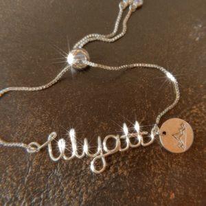 Custom Wire Name Bracelet Personalized Bracelet